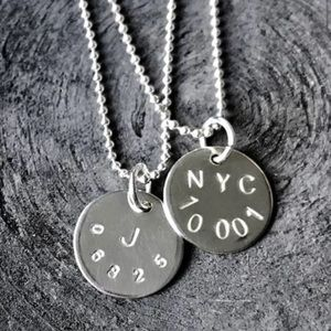Jewelry - Code necklaces- handmade and can be personalized